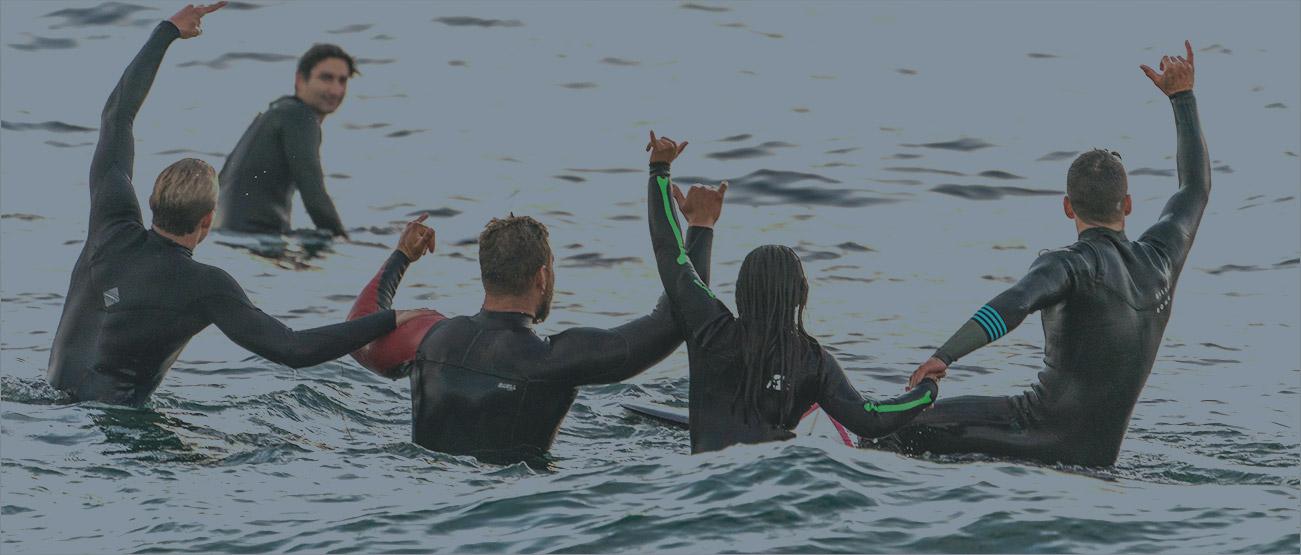 Campamento de surf en Gijón